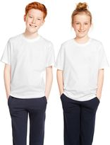 Marks and Spencer 2 Pack Unisex Pure Cotton T-Shirts