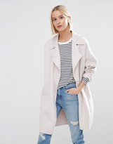 Selected Kaia Throw On Wool Coat