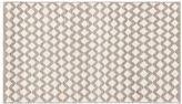 Pottery Barn Diamond Wool Rug - Ivory
