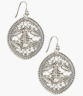 Lucky Brand Openwork Drop Earrings