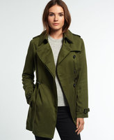 Superdry Winter Draped Trench Coat