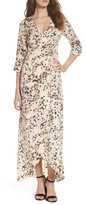 Knot Sisters Women's Monica Maxi Wrap Dress