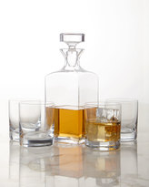 Mikasa Carson Decanter & Double Old-Fashioneds, 5-Piece Set