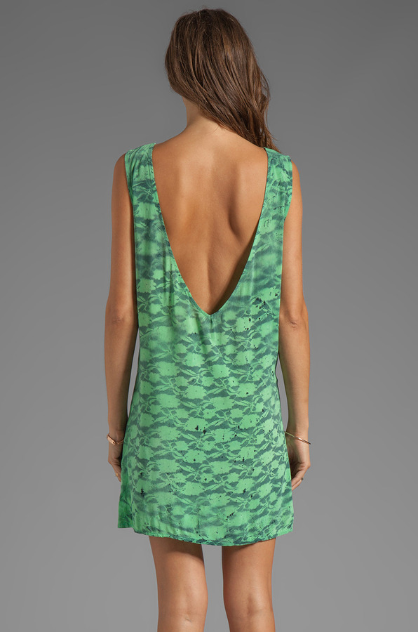 Blu Moon Trapeze Short Dress