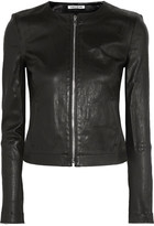 Elizabeth and James Helen Stretch-leather Jacket - Black