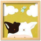 """Art.com Peek-a-Boo III, Cow"""" Framed Art Print by Yuko Lau"""