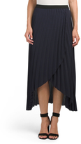 Juniors Made In Usa Pleated Skirt