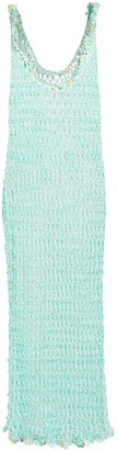 My Beachy Side Orpul Beaded Crochet Maxi Dress