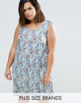 Junarose Sema Dress In Floral Print
