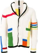 Thom Browne colour block cardigan