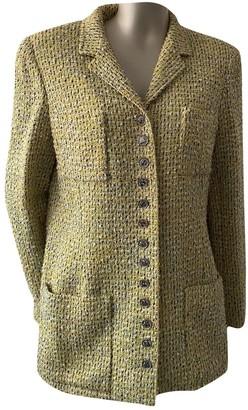 Chanel Yellow Wool Jackets