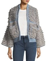 MiH Jeans Alice Oversized Cardigan Sweater