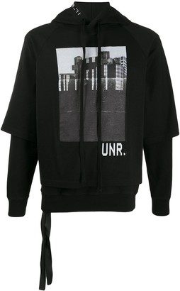 Unravel Project Photographic-Print Hoodie