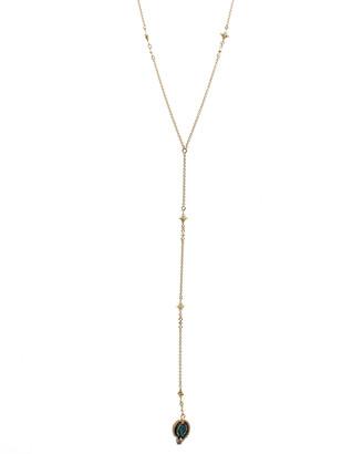 Armenta Sueno Paisley Diamond Lariat Necklace