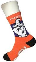 Sherry007 Men's Novelty Middleingeruck O Crew Socks