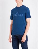 Stone Island Logo-print Cotton-jersey T-shirt