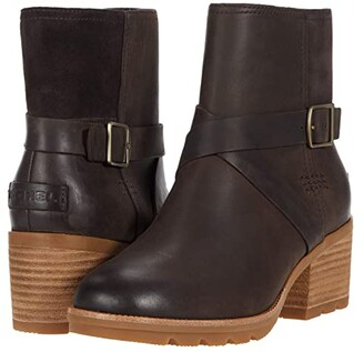 Sorel Cate Buckle (Blackened Brown) Women's Boots