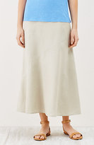 J. Jill Linen Multiseam Maxi Skirt