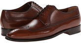 a. testoni Wingtip Oxford Men's Lace Up Wing Tip Shoes