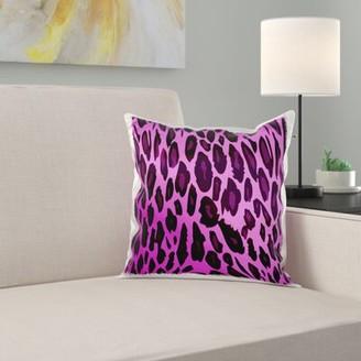 East Urban Home Cheetah Pillow Cover East Urban Home