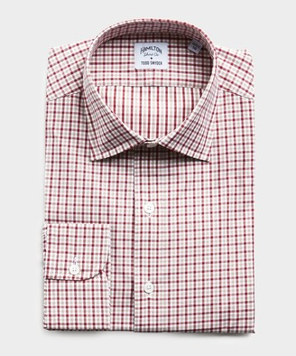 Hamilton Made in USA + Todd Snyder Gingham Dress Shirt