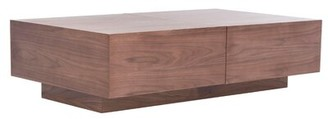 Extendable Block Coffee Table with Storage Joss & Main