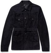 Ermenegildo Zegna - Belted Suede Field Jacket