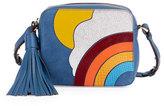 Anya Hindmarch Rainbow & Cloud Crossbody Bag, Blue/Multi