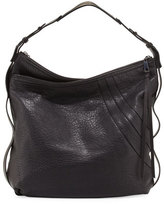 Kooba Aster Leather Hobo Bag, Black