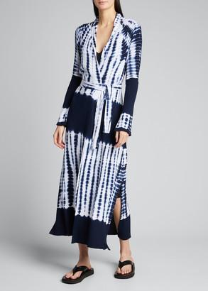 L'Agence Mahika Tie-Dyed Duster Cardigan