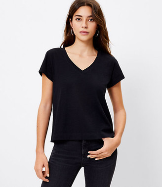 LOFT Everyday V-Neck Tee