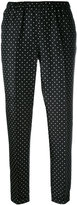 Alberto Biani polka dot print trousers - women - Silk - 46