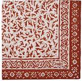 Drakes Drake's Men's Batik-Inspired Cotton-Blend Pocket Square