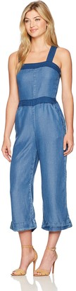 Splendid Women's Blocked Indigo Jumpsuit
