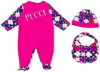 Emilio Pucci Junior Graphic-Print Long-Sleeved Pajama