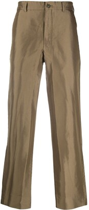 Comme des Garcons High-Waisted Straight Leg Trousers