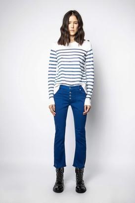 Zadig & Voltaire Londa Denim Color Jeans