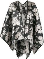 Ermanno Gallamini - tiger print waterfall hem jacket - women - Silk/Polyamide - One Size