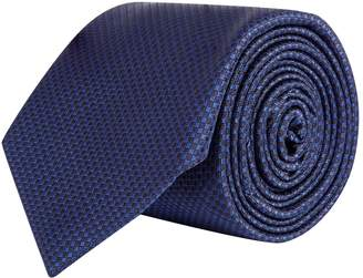Corneliani Check Silk Tie