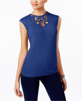 INC International Concepts Cutout Top, Only at Macy's