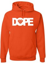 Tee Hunt DOPE Diamond Hoodie Hip Hop Swag Sweatshirt 4XL