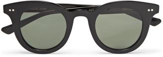 Native Sons Merrimack Round-Frame Acetate Sunglasses