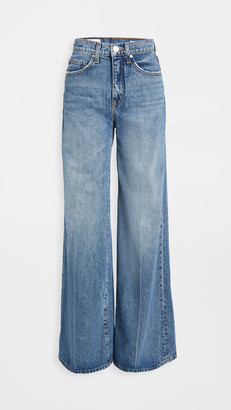 BLDWN High Rise Wide Leg Jeans