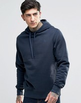 The North Face Hoodie With Hood Logo In Navy