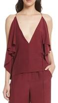 Robert Rodriguez Women's Drape Silk Satin Cami