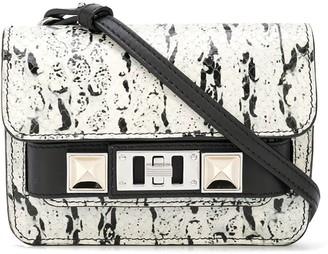 Proenza Schouler snakeskin effect PS11 Belt Bag