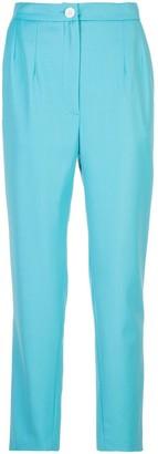 Natasha Zinko Cropped Tapered Trousers