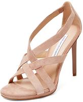 Diane von Furstenberg Siracusa Suede Strappy Sandal