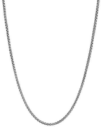 "David Yurman Small Box Chain, 16""L"