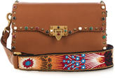 Valentino Rockstud Rolling leather cross-body bag